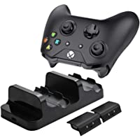 Rechargeable Battery Packs & Dual Charging Station Charger Dock for Xbox One (S/X)