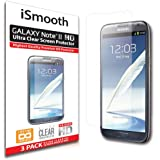 Samsung Galaxy Note 2 Screen Protector Ultra Clear Premium HD Version - Anti Bubble and Dust Guarantee - 3 PACK