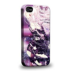 Case88 Premium Designs Chobits Chobits 00 Chi 1426 Carcasa/Funda dura para el Apple iPhone 4 4s
