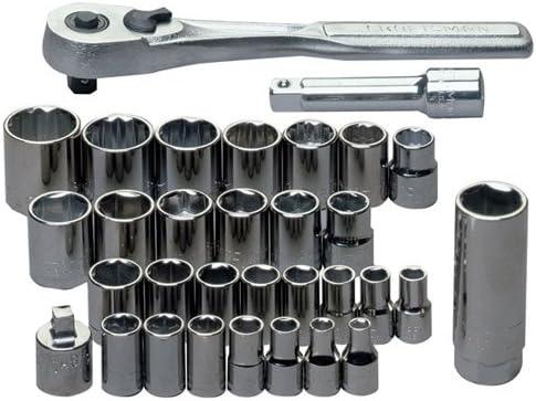 "Standard Socket for Ratchet Wrench 1//2/"" Drive 8~32 mm Metric MM Chrome Master"