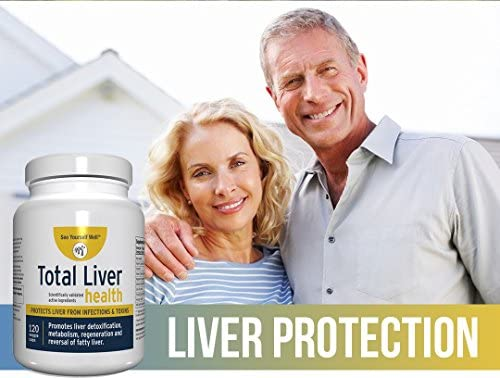 Total Liver Health: Liver Cleanse, Detox, Regeneration, Fatty Liver Reversal. Protection from Infections & Toxins. Trademarked Ingredient Picroliv.