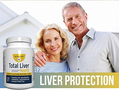 Total Liver Health: Liver Cleanse, Detox, Regeneration, Fatty Liver Reversal. Protection from Infections & Toxins. Trademarked Ingredient Picroliv. by See Yourself Well (Image #2)