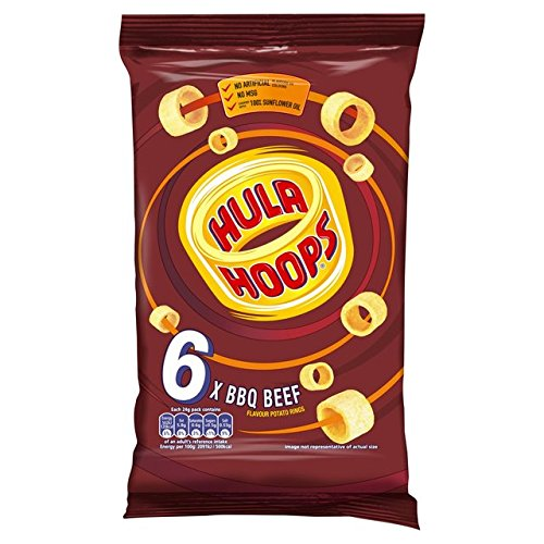 KP Hula Hoops Barbeque 6 Pack