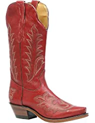 Boulet Womens Deerlite Cowgirl Boot Snip Toe - 3636