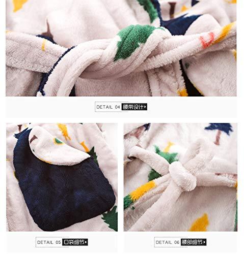 Terciopelo E 164cm 58 Otoño Franela 57kg Manga Pajamasx Pijamas Larga De Servicio Xl162 Lindo 168cm A 65kg Invierno Para Grueso Mujer 47 Domicilio Traje L158 Coral EH8wSq