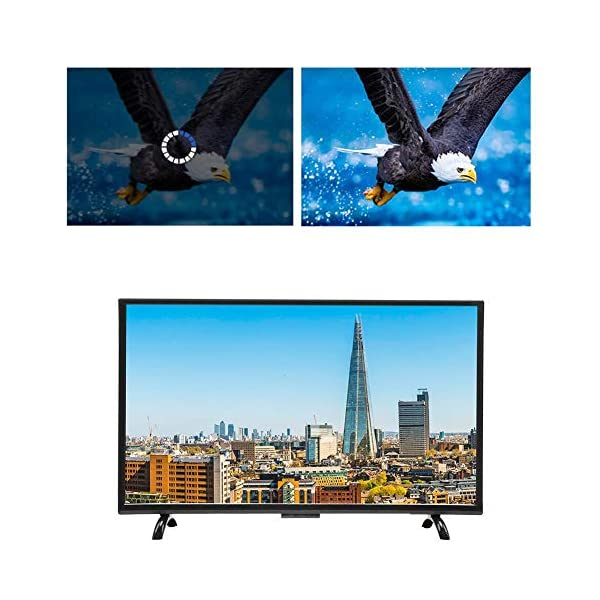 Hakeeta Curved 55-Inch UHD 4K Ultra HD Television Curved Screen Smart TV, Supports USB HDMI RF Antenna.(Network Version)(US) 5