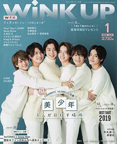 WiNK UP 最新号 表紙画像