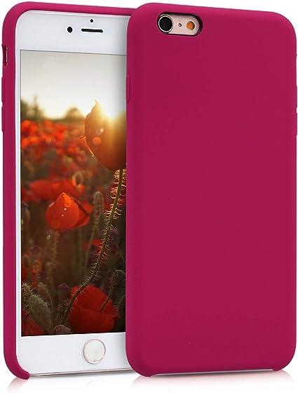coque iphone 6 apple silicone rose