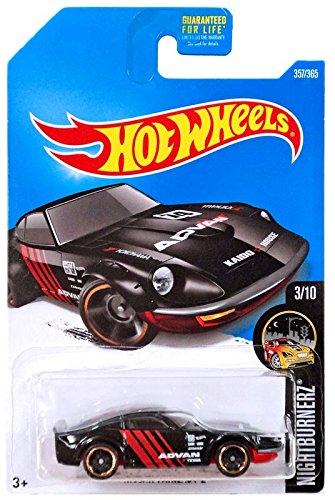 Nissan Fairlady Z >> Buy Hot Wheels 2017 Nightburnerz Nissan Fairlady Z 357 365 Black
