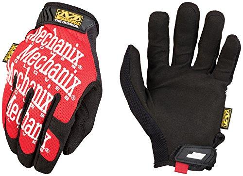 Mechanix Wear - Original Work Gloves (Large, Red)