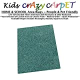 Runner 2.5'x9' - Surfer Dude ~ Kids Crazy Carpet Home & School Area Rugs | People & Pet Friendly – R2X Stain Resistance & Odor Reduction