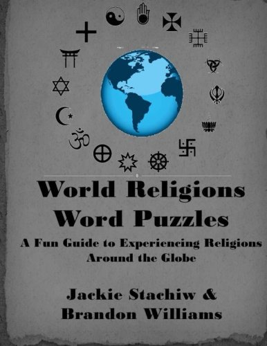 World Religions Word Puzzles: A Fun Guide to Experiencing Religions Around the Globe