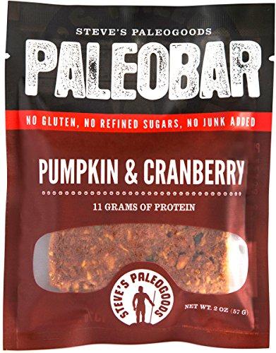Steve's PaleoGoods, PaleoBar Pumpkin & Cranberry, 2 oz (Pack of 3) For Sale
