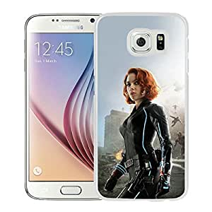 Ultron Scarlett Johansson White Samsung Galaxy S6 Screen Phone Case Genuine and Newest Design