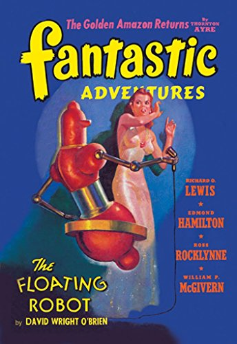(ArtParisienne The Floating Robot Fantastic Adventures 12x18-inch Paper Giclée Print)