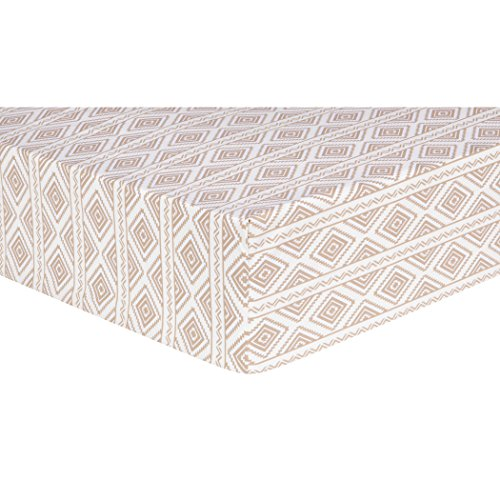 Trend Lab Deer Lodge Aztec Fitted Crib Sheet