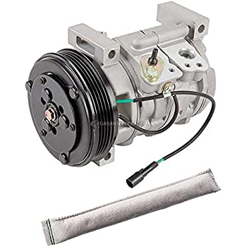 AC Compressor w/A/C Drier For Chevy Tracker 2.5L 2001 2002 2003 2004 - BuyAutoParts 60-88620R2 New