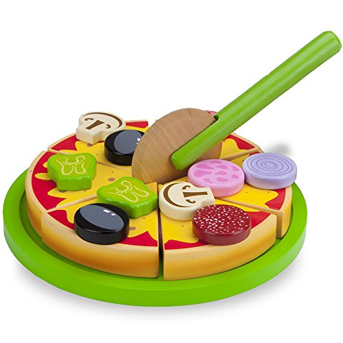 Wood Eats! Mix and Match Magnetic Pan Pizza by Imaginatio...