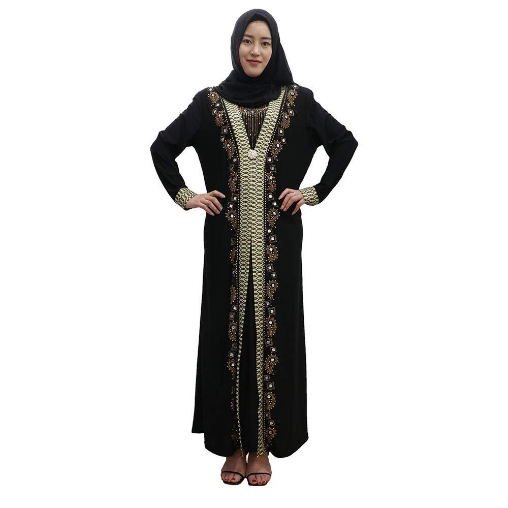 Amazon.com: Disfraz positivo para mujer musulmana vestido ...