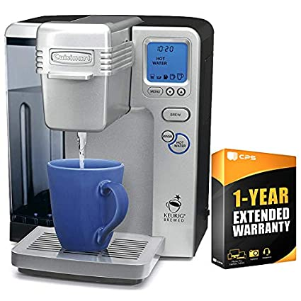 Cuisinart SS-700 Single Serve Keurig Brewing System (Renewed) with One Year Warranty Bundle