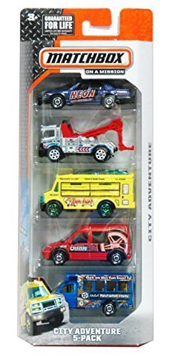 Matchbox, 2015 On A Mission, City Adventure 5-Pack