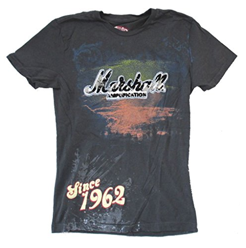 Marshall Amps Since 1962 Swag Slim Fit Men's Grey T Shirt (S) (Tube Marshall Amplification)