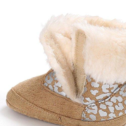 Khaki Neugeborenen Erwärmung Hunpta Booties Infant Schnee Baby Weiche Mädchen Schuhe Kleinkind Stiefel Jungen zvwz7qxR