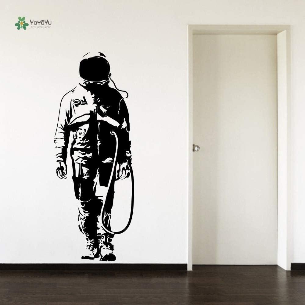 ljradj Tatuajes de Pared Astronauta Espacio Hombre Sala de Estar ...