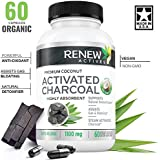 Extra Strength Activated Charcoal Capsules Made from Natural Organic Coconut :: 60 ct. for Digestive Support and Teeth Whitening : Made in The USA with No Artificial Ingredients