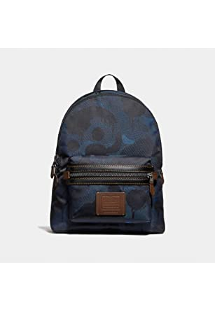 6fabb513147e COACH Men s Academy Backpack in Wild Beast Cordura Blue One Size