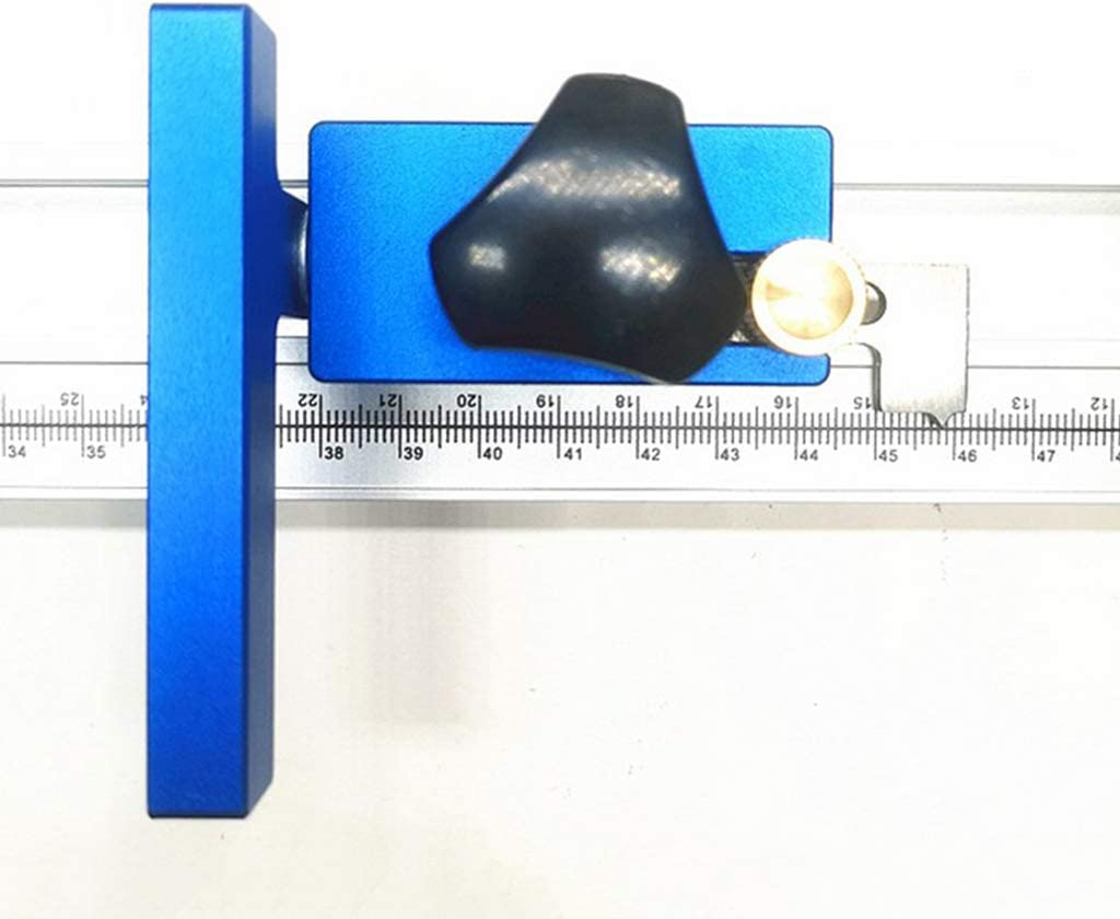 SDENSHI Mitre Track Stop Premium Durable 30 Typ T-Track Holzbearbeitungshandwerkzeug Manuelle Werkzeuge