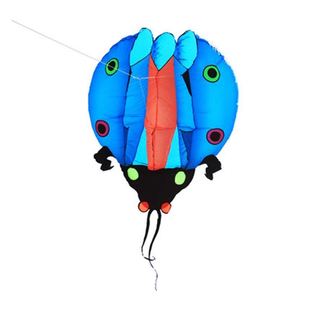 凧,春の空飛ぶ凧の希望 ソフトカイト ソフトボディ ビッグ アダルト カイト 飛ぶのが簡単 4色 空飛ぶ物 (色 : 赤) B07QVDJRGH ピンク  ピンク