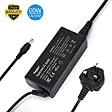 Sunydeal 60W Laptop charger Power Adapter 12 Volt 5Amp Supply LCD Adaptor monitor Fit For Acer BenQ HP SONY CTX LCD LED String Light TV Monitors