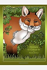 Animals to Colour In (Coloring Books) Paperback