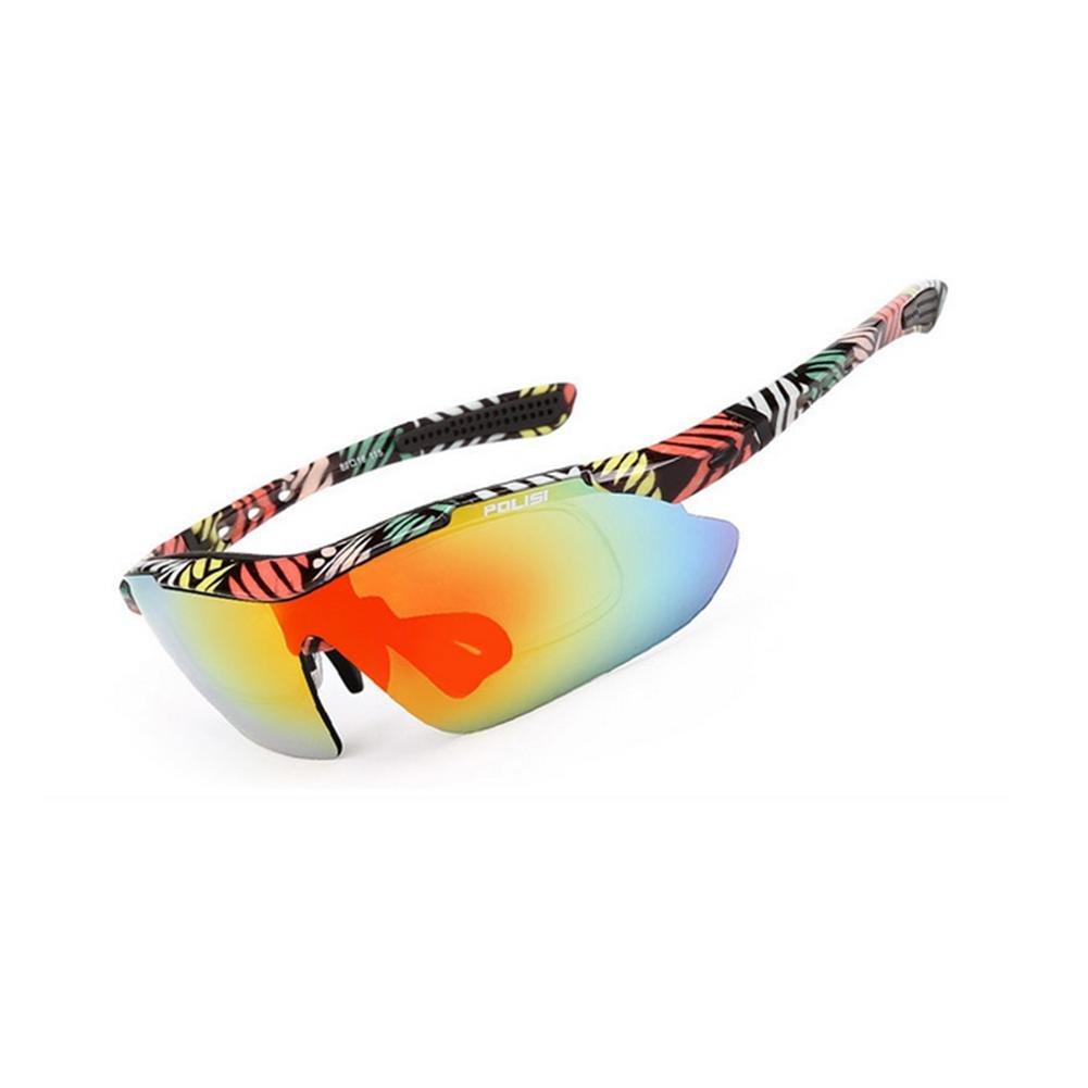 DZW Outdoor Angeln Brille polarisierte Sonnenbrille Bergsteigen fahren Sport Reiten Brille für Film Brille mit Myopie ausgestattet werden können , 1