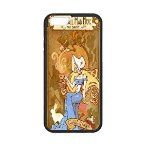 We Are all Mad Here Case Cover For Apple Iphone 5C Retro We're all Mad Here, Shock Absorbent We Are all Mad Here, {Black}