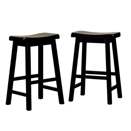 Stupendous Amazon Com Mid Century Modern Bar Stools 24 Inches Gmtry Best Dining Table And Chair Ideas Images Gmtryco