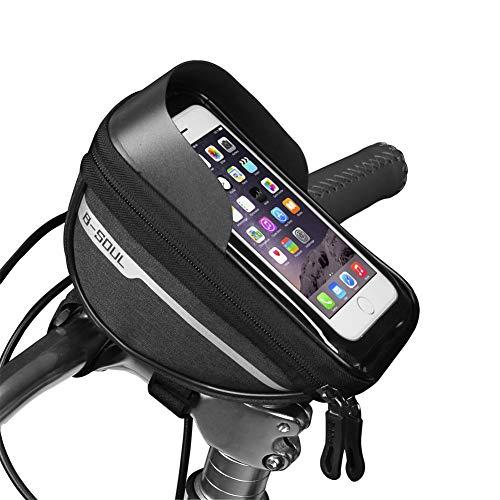 Bicycle Phone Holder Pannier Bag Phone Bike Mount Cycling Accessories Bike Accesories Motorbike Phone Holder Waterproof…
