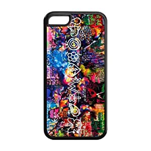 Diy iphone 5 5s case ROBIN YAM Fashion Coldplay Hard Rubber Gel Silicon Snap On Cover Case for iPhone 5 5S -CRY182