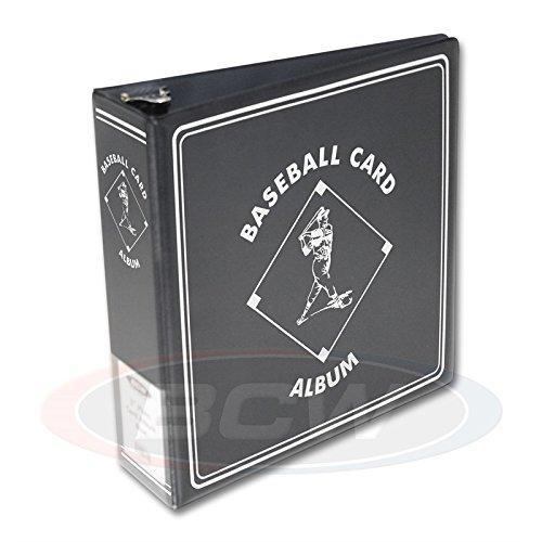 Baseball Card Binder - BCW Supplies Baseball Black 3