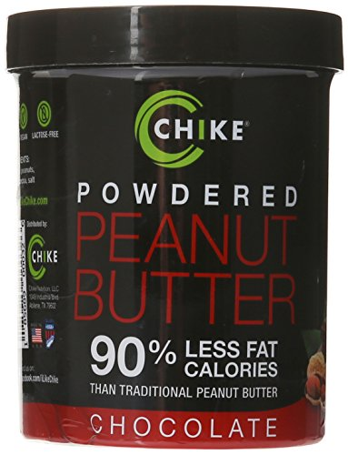 Chike Nutrition Powered Peanut Butter, Chocolate, 6.2 Ounce
