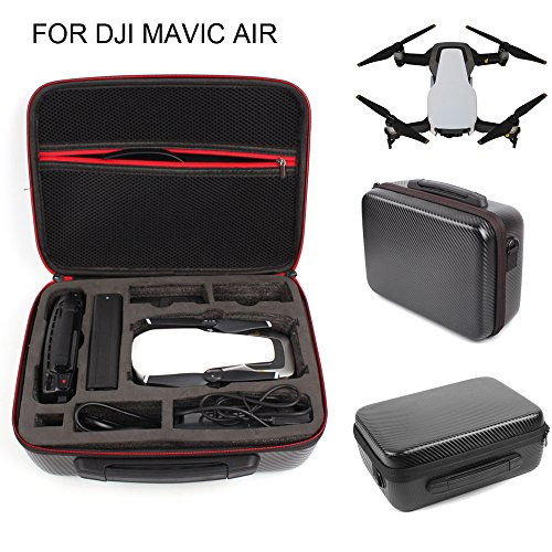 Price comparison product image for DJI Mavic Air Durable Carrying Case,  Waterproof / Durable / Compact / Portable Travel Storage Bag Shoulder Bag (Black)