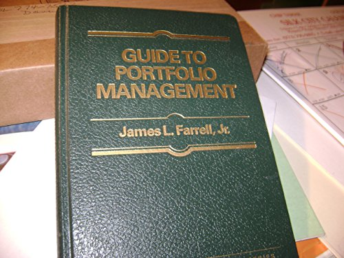 Guide to Portfolio Management (Finance Guide S.)