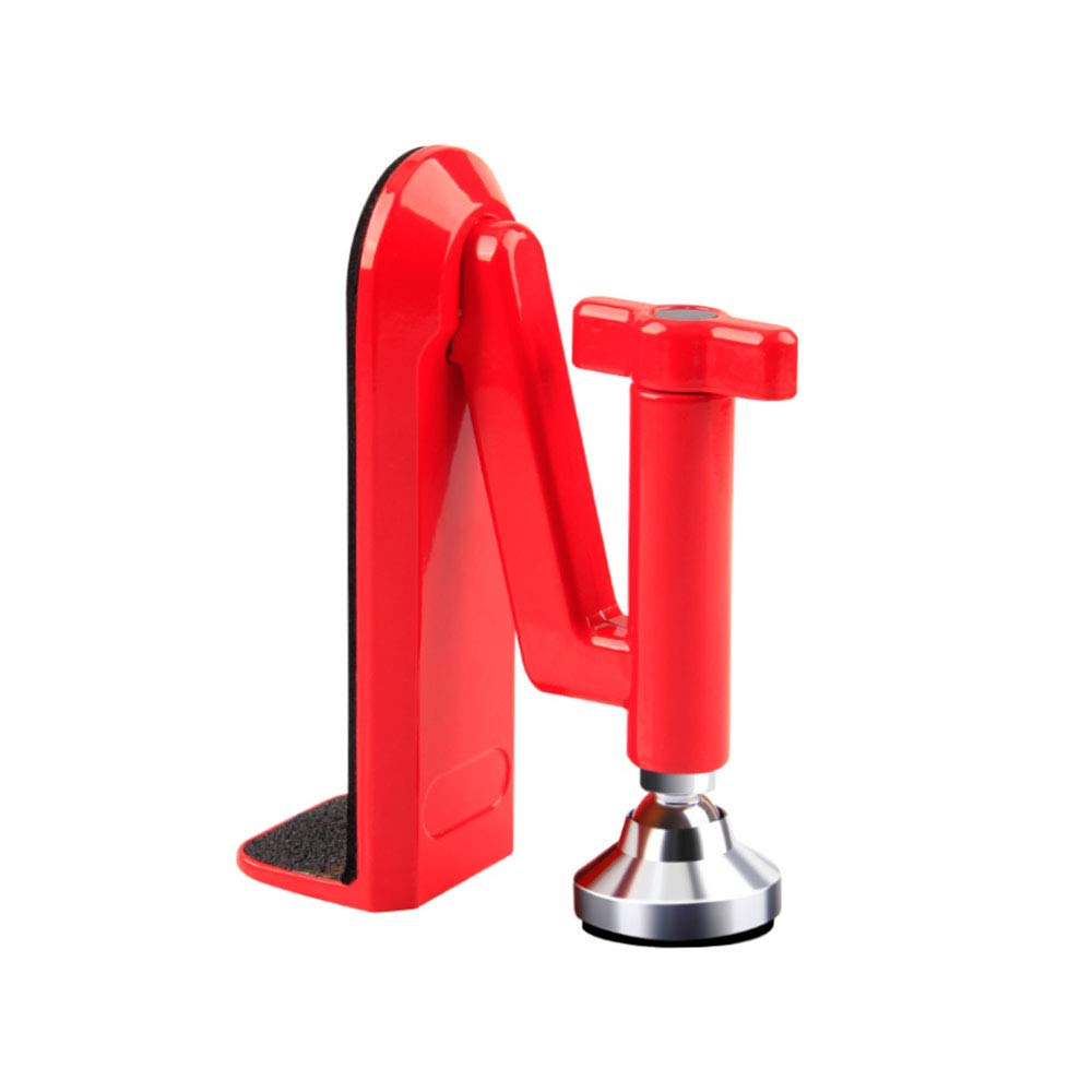 Security Door Stopper,Portable Security Device Red.