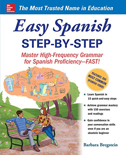 Easy Spanish Step-By-Step (Best English As A Second Language Programs)