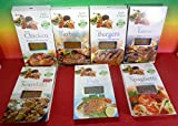GREECE GREEK HERBS & SPICES 7 PACKS X 40g FOR BARBEQUE, BURGERS, CHICKEN , SOUVLAKI , LAMB , FISH , SPAGHETTI,SPECIAL FOR PARTY