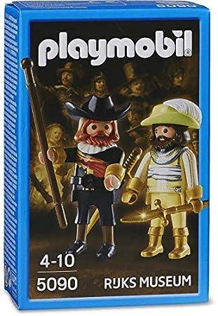 Playmobil 5090 Sonderausgabe 2 Figuren Aus Der Nachtwache Nach Rembrandt Rijks Museum