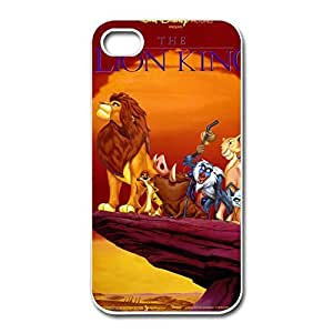 Lion King Protection Case Cover For IPhone 4/4s - Retro Case