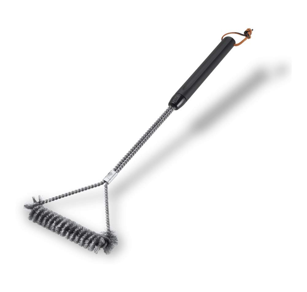 Weber 6493 21-Inch 3-Sided Grill Brush by Weber