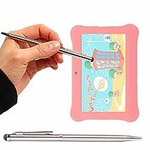 """Stylet tactile gris métal 2 en 1 pour Alldaymall tablette enfant 7"""" - DURAGADGET"""